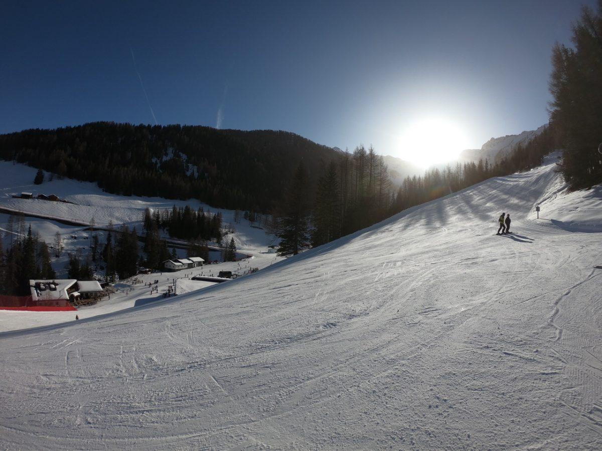Skifahrt nach Südtirol